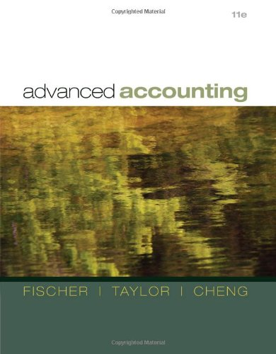 advanced accounting fischer11e tbchap21 pdf Price for the test bank, solution manual and book pdf: test bank 20$ usd and solution manual 20$ chapter 1 understanding the issues 1 (a) product extension—manufacturer ex- a gain on the sale of business of $500,000 pands product lines in boating industry.